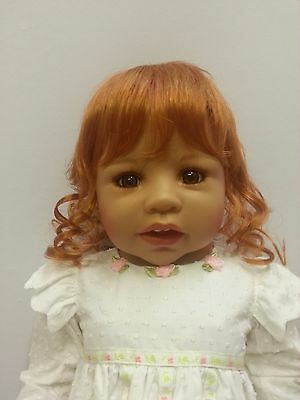 "NWT Monique Jessica Carrot Doll Wig 16-17"" fits Masterpiece Doll(WIG ONLY)"