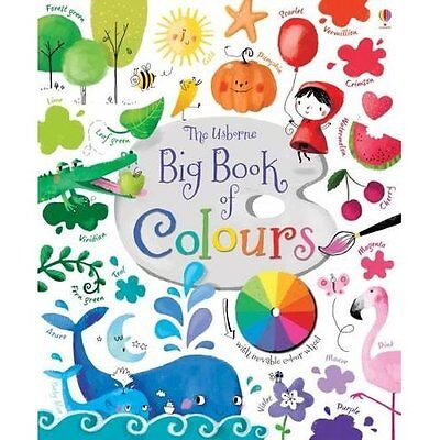 Big Book of Colours Brooks, Touliatou Usborne Board 9781409582472