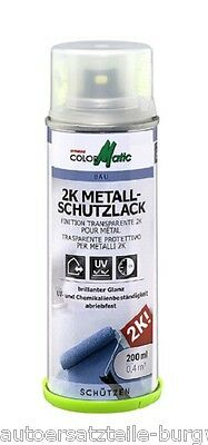 ColorMatic  2K Metall-Schutzlack transparent 200ml 357558