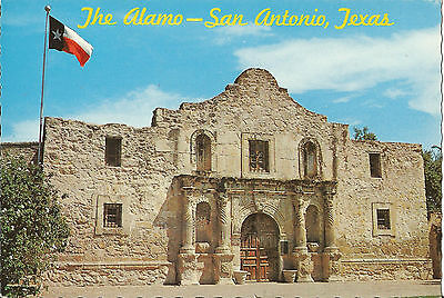 "The Alamo - San Antonio, Texas, 4"" X 6"" Vintage Postcard"