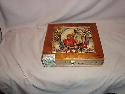 Mi Bario 2008 Limited Edition El Puro Portrait Wood Cigar Box