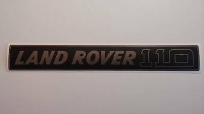 Land Rover DEFENDER 110 Front Grille Gray/Black Decal Logo Adhesives Sticker