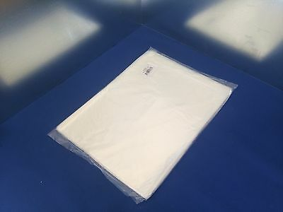 12x12 to 22x36 LDPE Tuf-R 1mil Lay Flat FDA Clear Open Top End Plastic Poly Bags