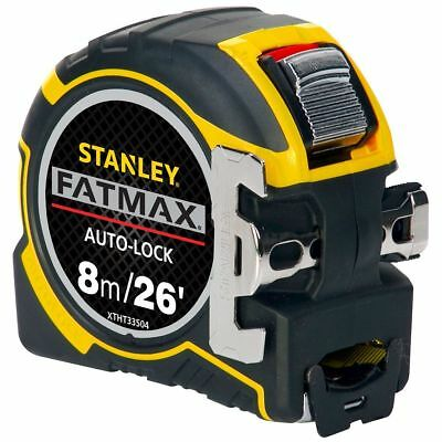 Stanley XTHT0-33504 Fatmax Autolock Tape Measure - 8m/26ft