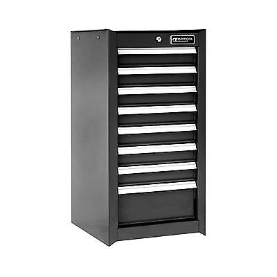 BRITOOL EXPERT E010223B SIDE FITTING or STANDALONE 8 Drawer TOOL CABINET - BLACK