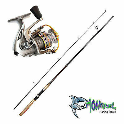 New Rod & Reel Combo Daiwa Crossfire Rod And Gwma 2000 Reel 180Cm Fishing Tackle