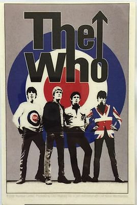 "The Who Band Sticker 3.25""x5"""