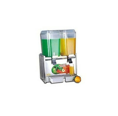 COMMERCIAL Twin Bowl Hot Cold Drink Dispenser 220V  UKG