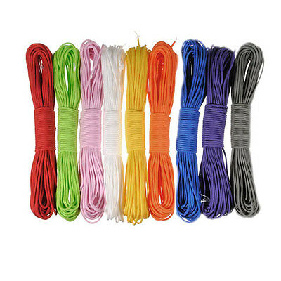 100ft 7Strand 550 Survival Bushcraft Paracord Parachute Cord Lanyard TYPE III LW