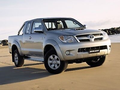 Toyota Hilux 05-10 Aussie Model Service Workshop Manual