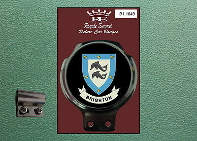 Royale Classic Car Badge & Bar Clip BRIGHTON Mod B1.1049