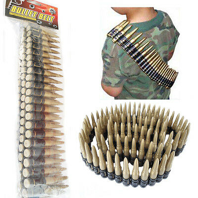 Bullet Belt Kids Ammo Military Soldier Bandoleer Fancy Dress Adult Unisex 96