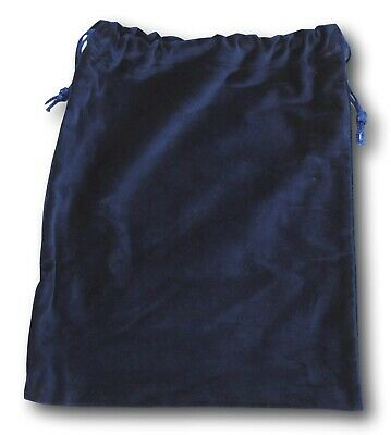 "Blue Velvet Urn Bags for Cremains Cremation 10"" X 12"""