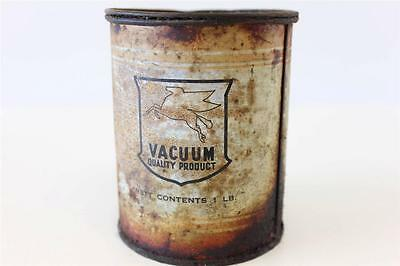 Mobilgrease 1lb  Vacuum Oil Company collectable tin