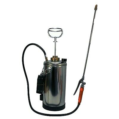 Stainless Steel Sprayer 5L Industrial Termite Cockroaches Roach ants Spiders Bug