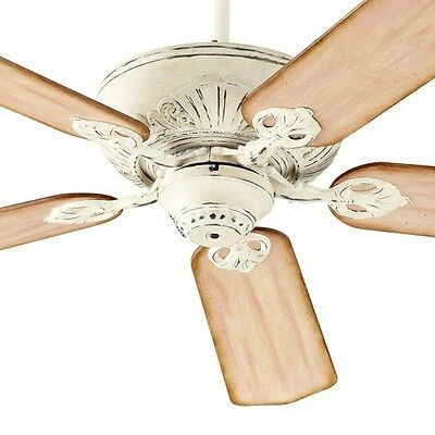 """Quorum 78525-70 Chateaux 52"""" Ceiling Fan In Persian White"""
