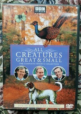 All Creatures Great and Small - Series Two Set (DVD, 2002, 4-Disc Set, Four...