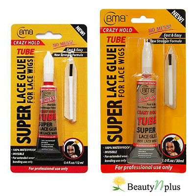 BMB Super Lace Glue Tube For Lace Wigs 0.4 oz / 1 oz (Choose from 2 Size)