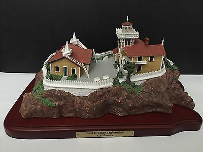 Danbury Mint East Brother Lighthouse - Great American Lighthouse's San Francisco