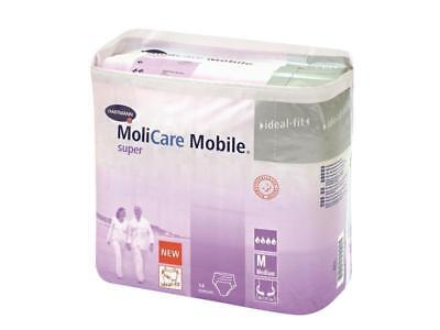 MoliCare Mobile super Gr. 2 Medium / M - 4 Packungen / 4 x 14 = 56 St (1 Karton)