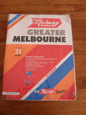 Melway - 2004 - Greater Melbourne Street Directory - Edition 31