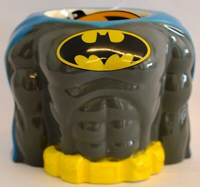 Licensed DC Batman 3D Torso Ceramic Mug