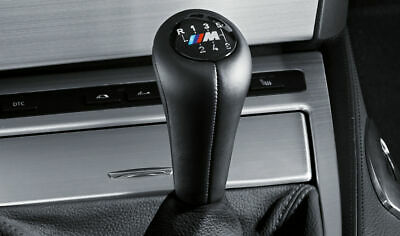 BMW Genuine M Leather 6-Speed Sport Gear Stick/Shift Knob 25117896884