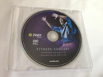 Fitness Concert - Zumba Fitness Exercise Dvd Latin Dance Workout Vgc Region Free