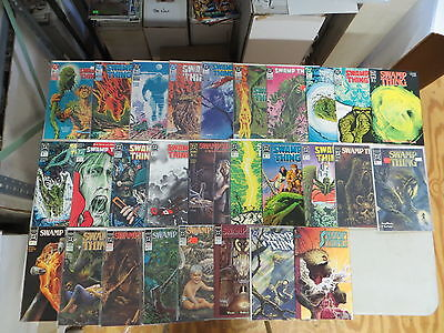 Swamp Thing 28 Issue Comic Run Lot 66-129 Dc New Format