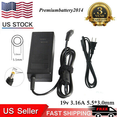 AC Adapter CHARGER POWER FOR Samsung ADP60ZH-D AD-6019R POWER SUPPLY CORD NEW US