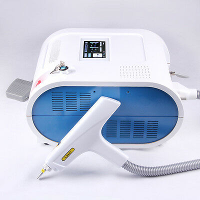 Professional Q Switch Nd Yag Laser 1000MJ Freckle Eyebrow Tattoo Removal Machine