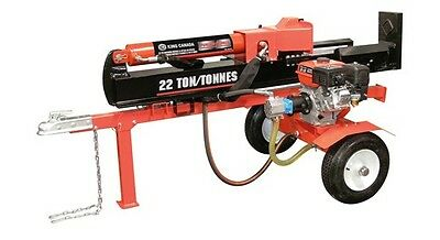 King Canada Tools KCG-22LS 22 Ton Horizontal - Vertical 6.5 HP Gas Log Splitter