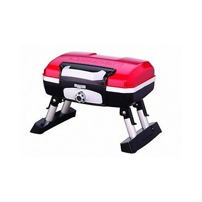 Tabletop Gass Grill Portable Stainless Steel Cooking BBQ Outdoor Cuisinart New