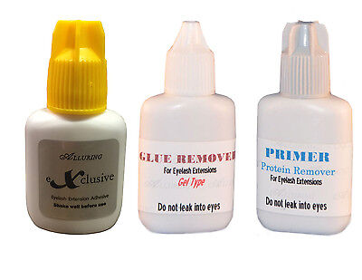 *New* ALLURING eXclusive 3D 5D Volume Glue Eyelash Extensions Strong Adhesive