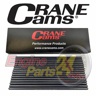 "Pushrods Chrome Moly 9.050"" Long Pro Series 1 Piece .080"" Wall Crane 95661-16"