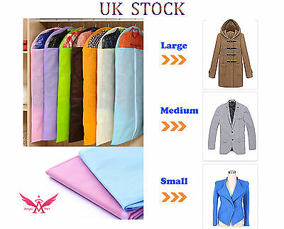 Clothes Dress Garment Cover Bags Dustproof Travel Storage Protector