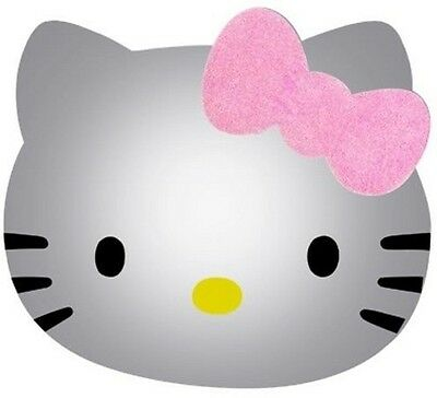 Hello Kitty Wall Mirror with Glitter loop NIP Insured Postage