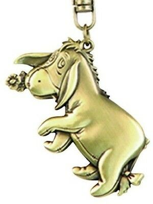 Disney Metal collection keychain - Eeyore 2D Brass Key Ring [Toy]. Brand New
