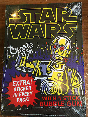 Star Wars Topps Celebration VII 7 Jumbo Wax Pack Wrapper Cards Sealed