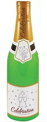 Giant 180cm Novelty Wedding Champagne Bottle Inflatable Party Decoration UK SELL