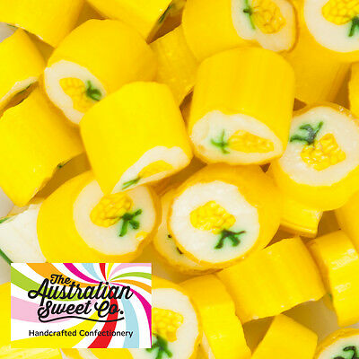 1kg Pineapple Rock Candy boiled bulk lollies - Wedding Favours Party