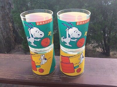 Snoopy Cups. A Set Of 4