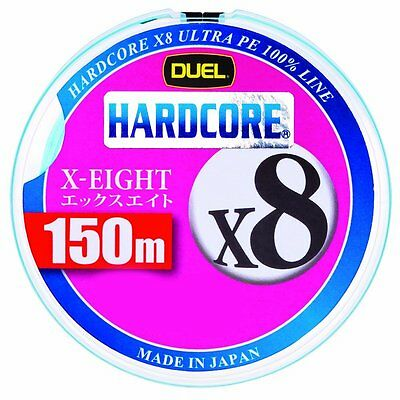 DUEL HARDCORE X8 150M [W , MB] Fishing line Made in Japan