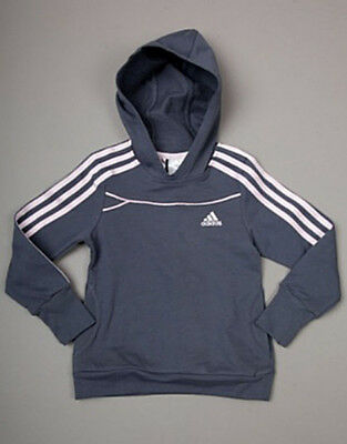 adidas V35083 Girls LG ET Hooded Sweatshirt Top Brand New Size 4 Years Old #W467