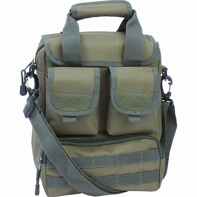 """UTILITY BAG 15"""" OD Green Sling DAY PACK Multiple Pockets Military Olive Bug Out"""