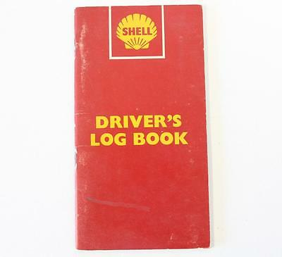 Shell 1960's truck drivers log book new old stock (never filled in)