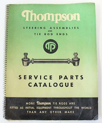 Thompson Tie Rod & steering assembly 1953 parts book second hand