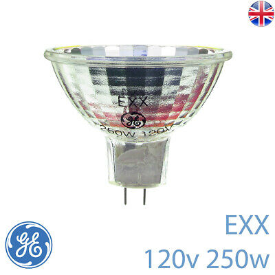 EXX 120v 250w GY5.3 GE 11750 Projector Bulb / Lamp