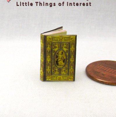 FARNESE BOOK OF HOURS Miniature Book 1:12 or 1:24 Dollhouse Scale Illustrated