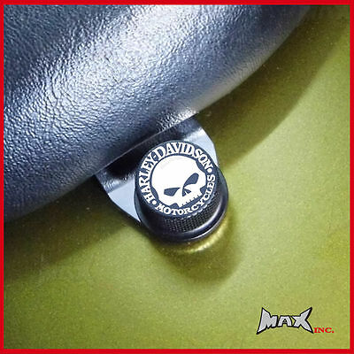 Willie skull emblem seat bolt Harley Davidson 1988 - 1995 Softail Springer FXSTS